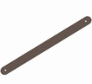 IW-dum- Long - Dummy kabelovergang, zwart, 24 x 536