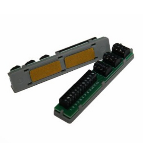 FM1500 - losse printplaat voor heraansluiting kabel 2 x 12 schroefklemmen