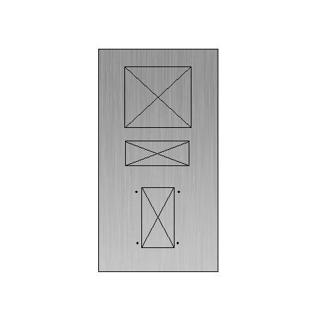 Maatwerk voorplaat (specificatie klant)